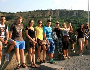 Európska dobrovoľnícka služba projekt v Gruzínsku 2013