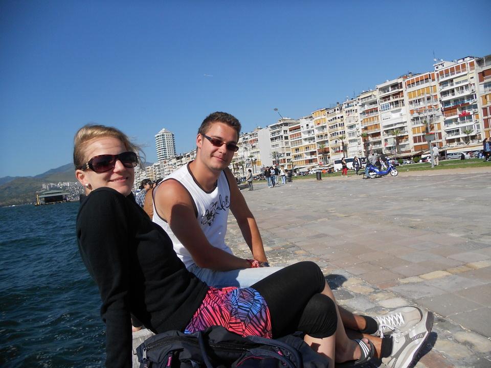 Kristína Balúnová a Peter Huray krátkodoba európska dobrovoľnícka služba - Turecko, Bodrum, 2012 (12)