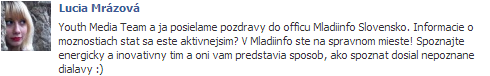 lucia_mrazova_o_mladiinfo_slovensko_referencie