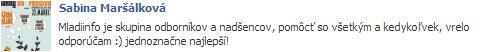 sabina_marsalkova_o_mladiinfo_slovensko_referencie